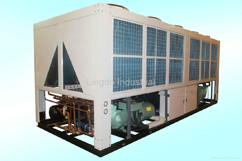 Air Cooled Screw Water Chiller 2