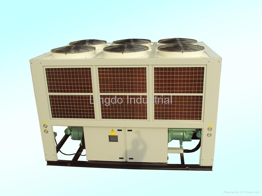 Air Cooled Screw Water Chiller 4