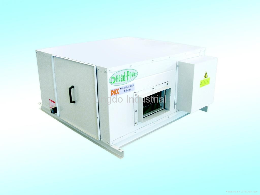 Water Cooling Units : Water cooled single package unit hwl head power china