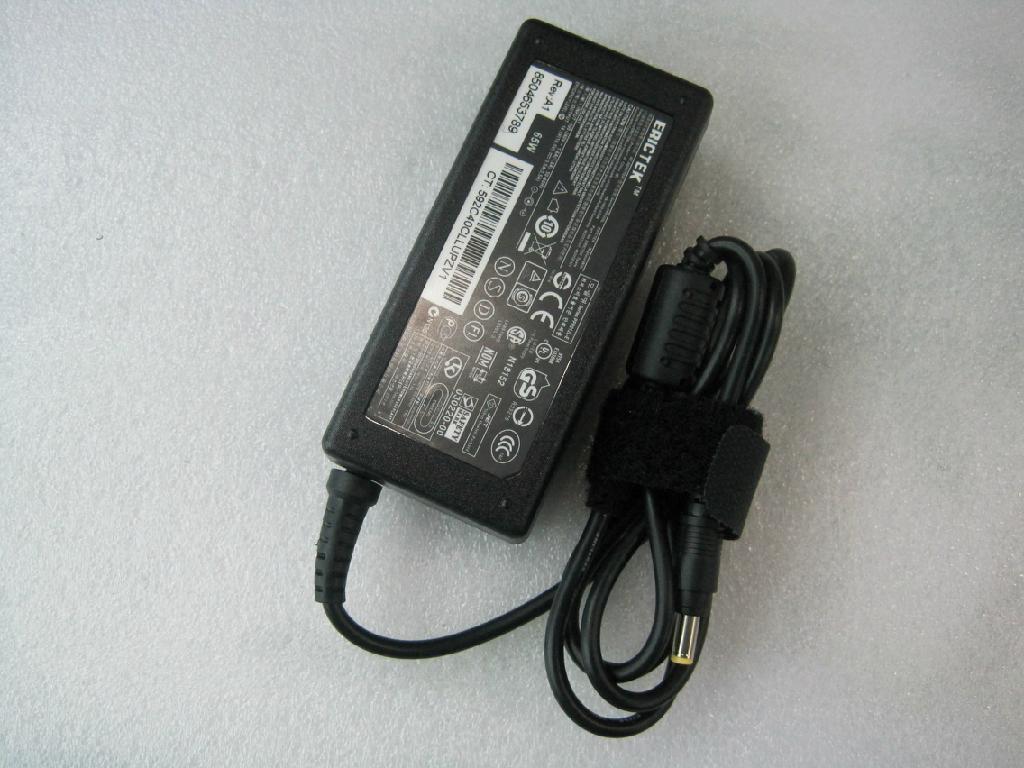 惠普18.5V3.5A (4.8*1.7)小黄口 笔记本电脑充电器 4