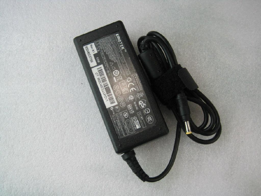 惠普18.5V3.5A (4.8*1.7)小黄口 笔记本电脑充电器 5