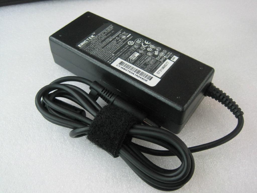 惠普19V4.74A 7.4*5.0 90W 笔记本电源适配器 1