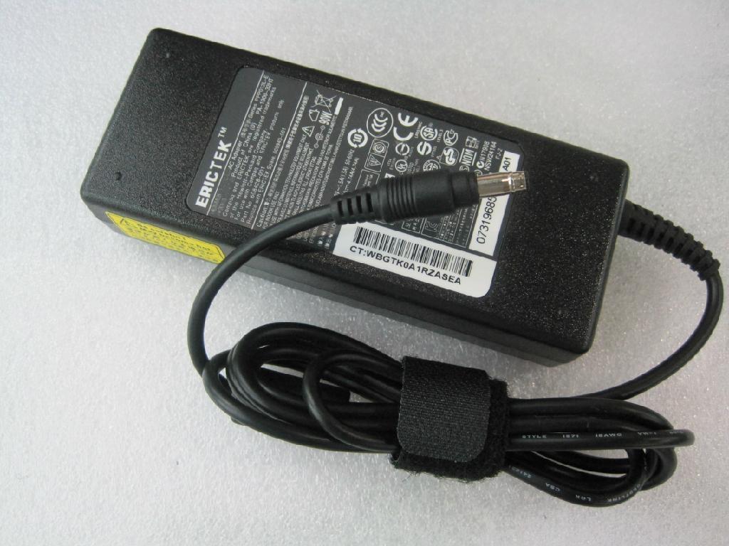 惠普19V4.74A子弹头笔记本电源适配器 5