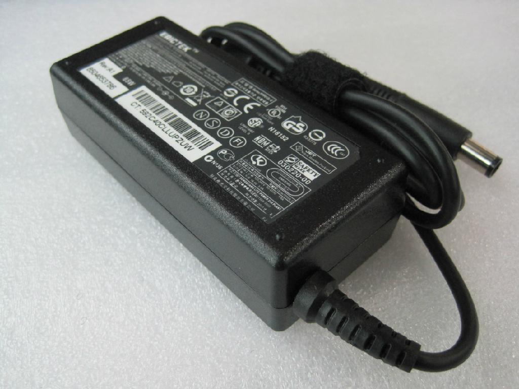 惠普Hp大口筆記本電源適配器18.5V3.5A 65W 1