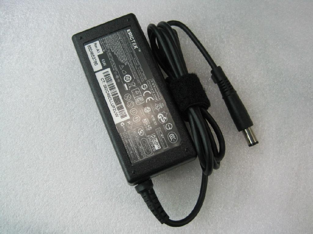 惠普Hp大口筆記本電源適配器18.5V3.5A 65W 2