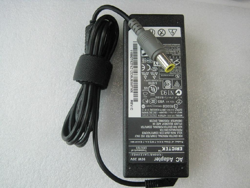 联想Lenovo20V4.5A90W笔记本电源适配器 3