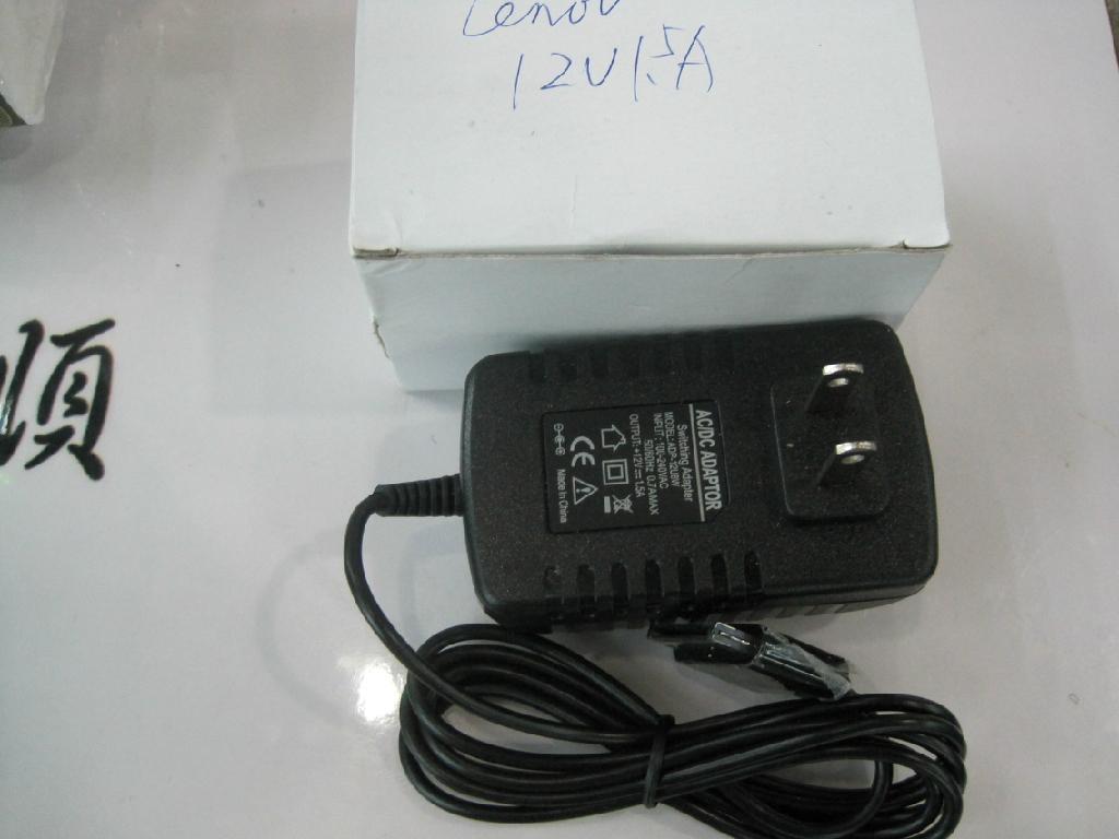 聯想 S1 K1 Y1011平板電腦充電器 直充樂pad 12V1.5A 1