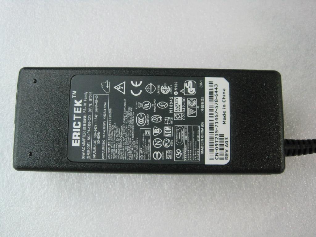 新款戴爾19.5V4.62A筆記本電源適配器 3
