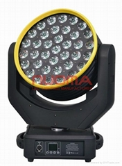 LED Wash Moving Head 37x12W Quad Cree