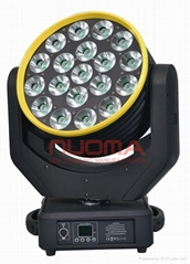 LED Wash Moving Head 19x12W Quad Cree