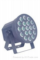 LED Pixel Par Light 19x9W tricolor with beam effect