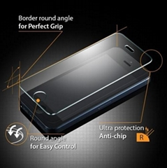 Iphone 5/5S/5C premium tempered glass screen protector