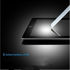 Ipad 2 3 4 premium tempered glass screen protector