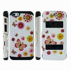 Design SGP Slim Armor PC+TPU Shell for Apple's iPhone 5G