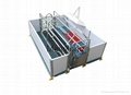Pig feeding equipment- Pig Farrowing crate with PVC Plank fence