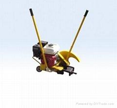 內燃鋼軌切軌機
