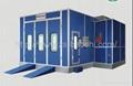 Baochi spray booth BC-728 fuel oil type