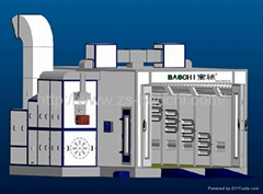 Baochi spray booth BC-768S water soluable type