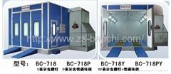 Baochi spray booth  BC-718 fuel oil type