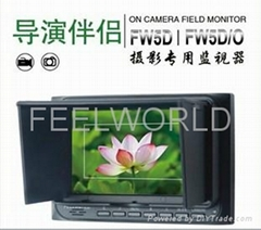 Feelworld 5 inch on camera field monitor with hdmi input and output