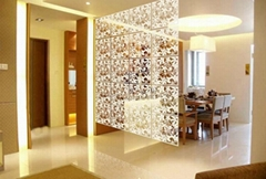 film wall stickers grilles fashion home partition entranceway room dividers