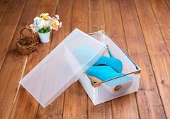 Shoebox Transparent shoe box Plastic