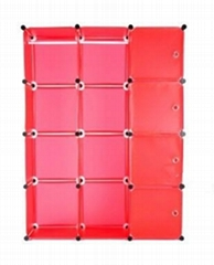 wardrobe combination folding wardrobe steelframe Reinforce the folding closet