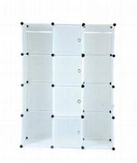 wardrobe combination folding wardrobe steelframe Reinforce the folding closet