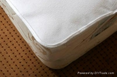 Waterproof PVC Vinyl Coated Terry Mattress Protectors for Incontinence