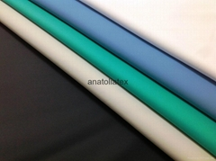 Waterproof PU Coated Fabric for Medical Mattress, Aprons, Adult Bibs