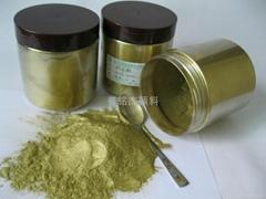Brass powder copper powder rich pale gold bronze powder