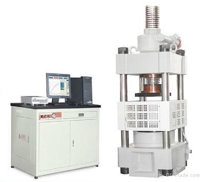YAW-3000A微机控制电液伺服压力试验机 1