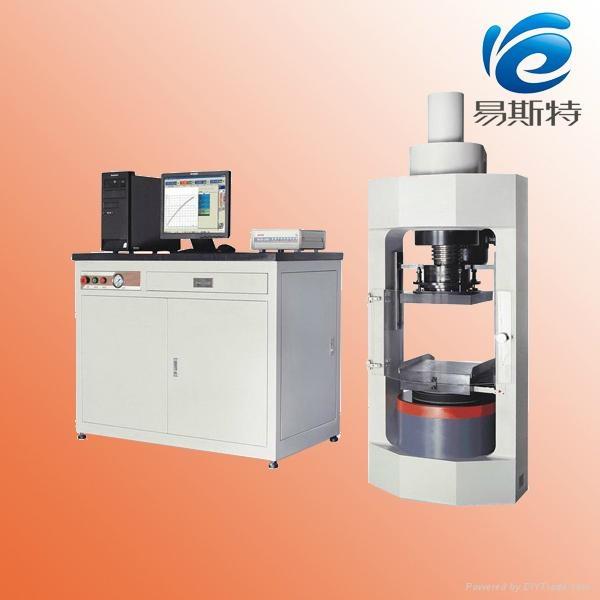 YAW-2000D 微机控制电液伺服压力试验机 1