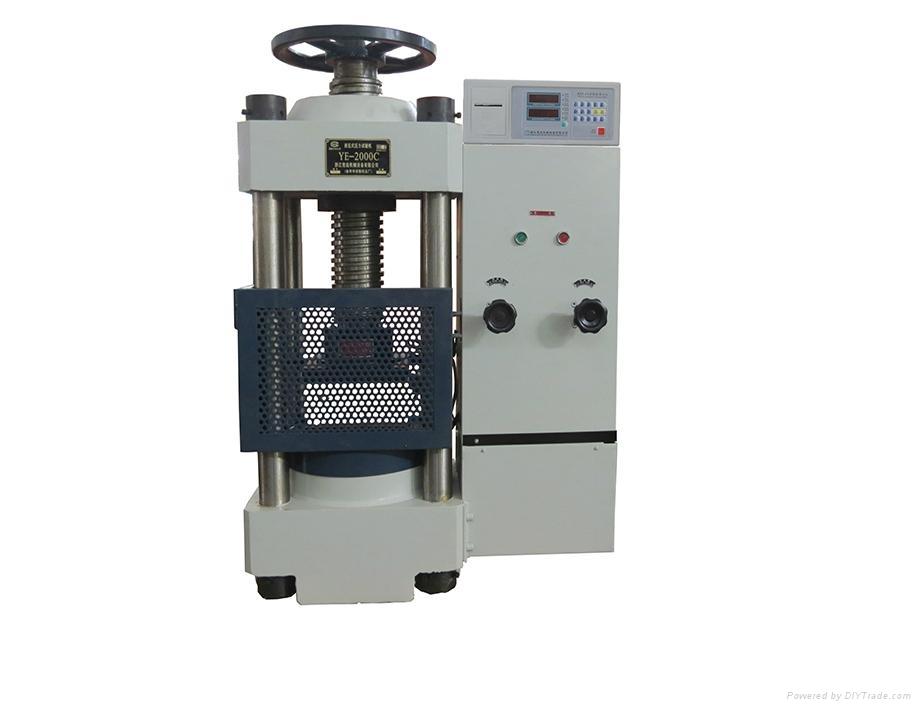 YE-2000C Digital compression testing machine 1
