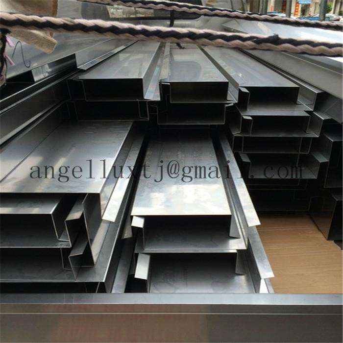 Stainless Steel profile U-channel edge wall protection decoration tile trim  4