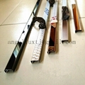 Stainless Steel profile U-channel edge wall protection decoration tile trim