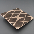 Foshan 304 Color etched stainless steel sheet for decoration factory price