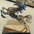 Supply stainless steel artwork customized crafts metal Sculpture  2