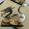 Supply stainless steel artwork customized crafts metal Sculpture