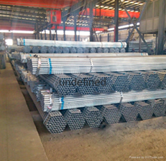 made in China market galvanized steel pipe gi pipe for greenhouse frame