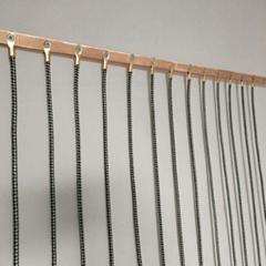 防靜電門帘繩