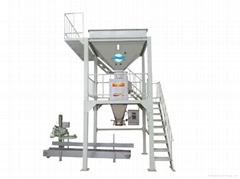 豹牌化肥造粒機DCS-50型定量包裝秤