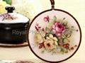ceramic flower pot holder