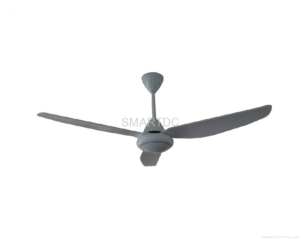 Solar DC ceiling fan 1