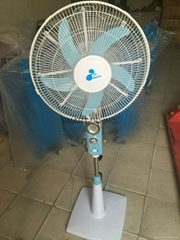DC rechargeable mosquito catch stand fan