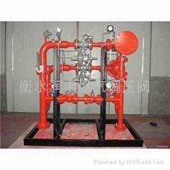 燃气锅炉用调压柜