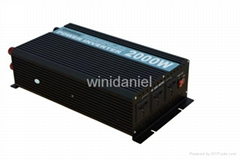multifuctional high efficiency 2000W dc 12v ac 220v big power inverter