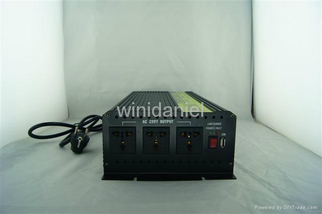 THCA inverter dc to ac UPS high speed battery charger 220v 12v 1000w inverter 2