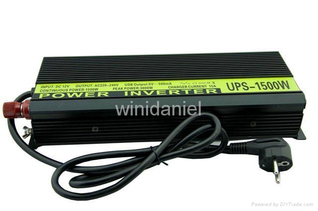 THCA inverter dc 12v ac 220v 1500W home use power supply electric inverter 1