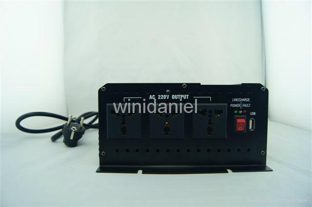 THCA inverter dc 12v ac 220v 1500W home use power supply electric inverter 3